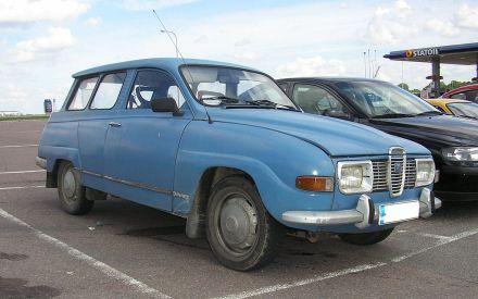 1972 SAAB 95