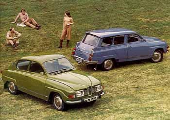 1972 saab 96 + 95 -a