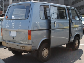 1972 Suzuki Carry 5th van rear