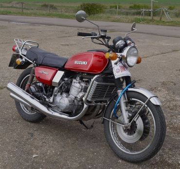 1972 Suzuki GT750 triple water cooled 2 stroke