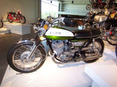 1972 Suzuki T500J