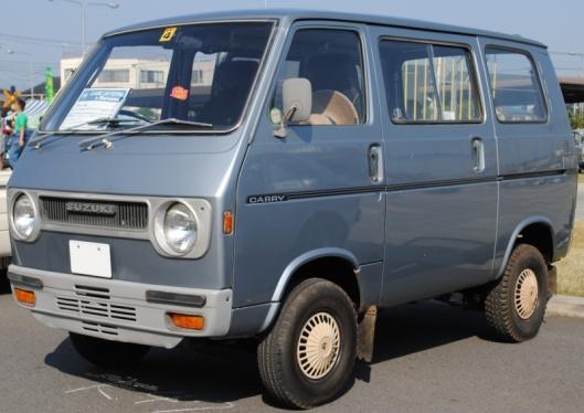 1972–1973 Suzuki Carry Van Super DeLuxe L50V 5th gen