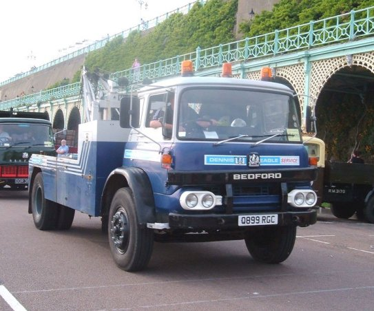 1974 BEDFORD KM RECOVERY RGC