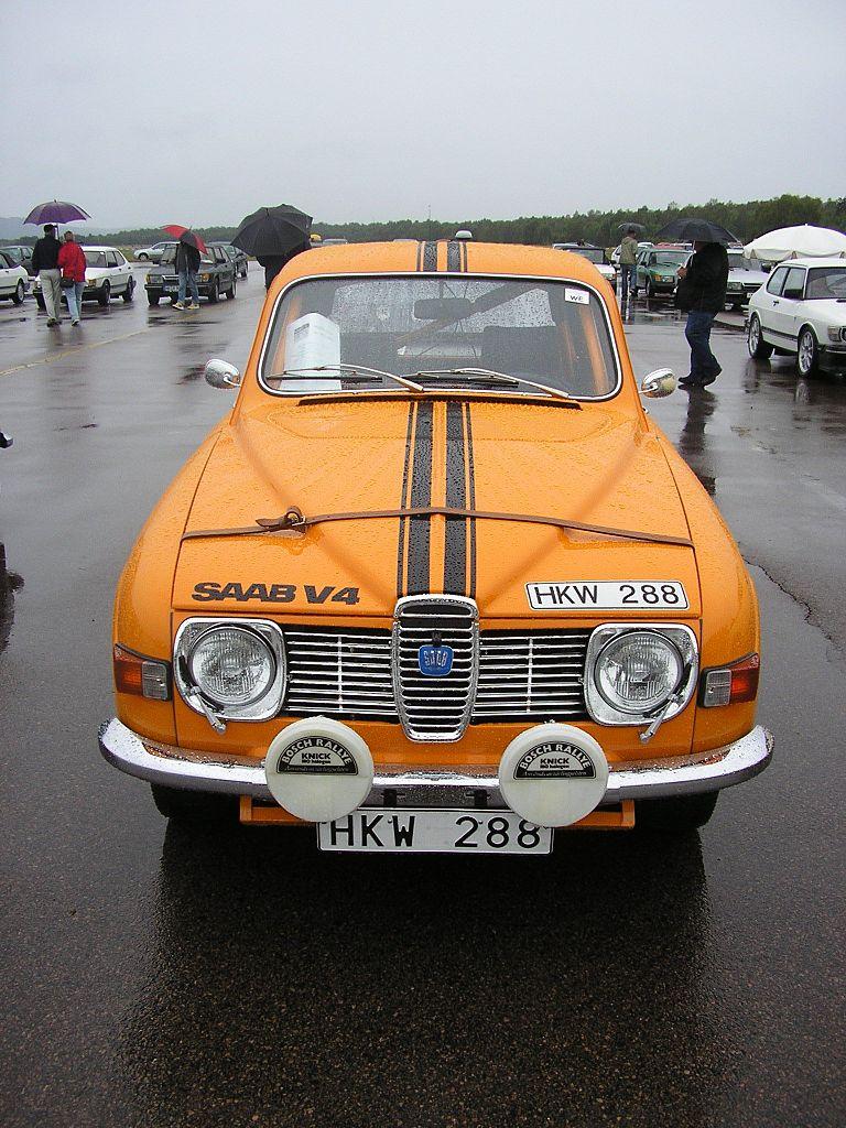 1974 SAAB 96 V4 LHD