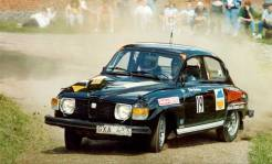 1974 Saab 96 V4 Peter Rally1