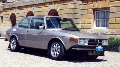 1974 Saab 99 EMS UK