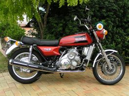 1975 Suzuki RE5 M2 Rotary Engine Motorcycle