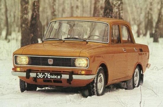 1976-1988 Москвич 2140-3