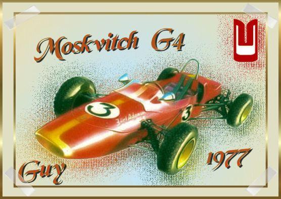 1977 Moskvitch G4