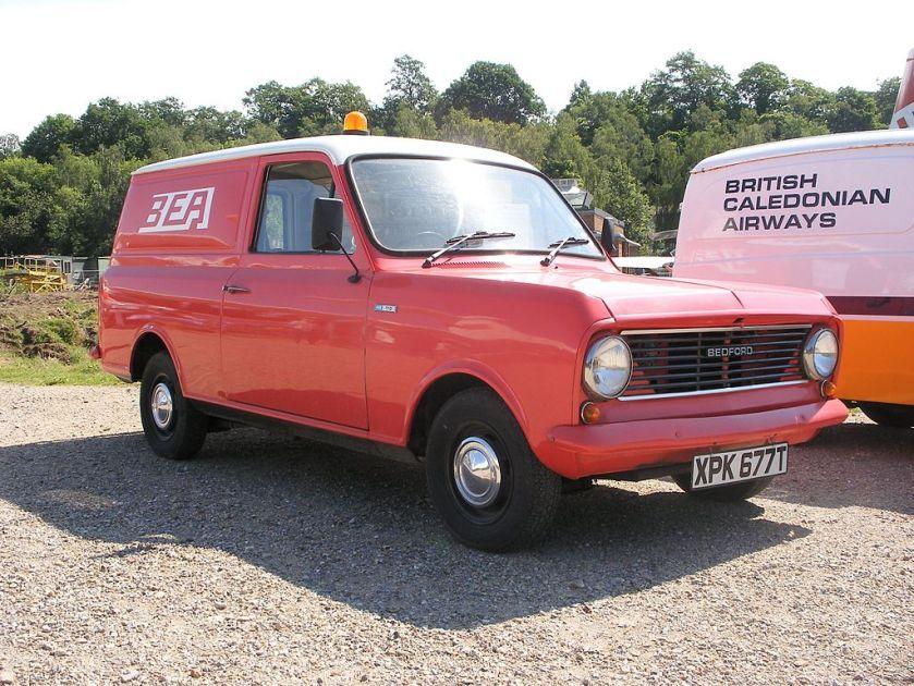1978 Bedford HA110 Van