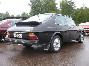 1978 Saab 99 Turbo, with combi coupé bodywork