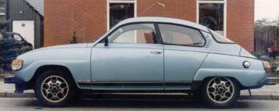 1979 Saab 96 V4