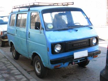 1979 Suzuki Carry ST80V (Chile)