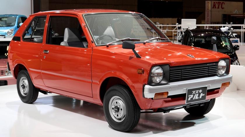 1979's the first generation Suzuki Alto