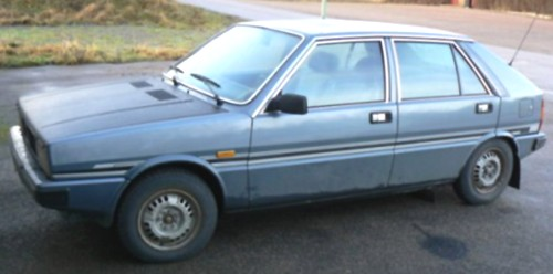 1981 Saab Lancia 600 GlE, metallic light blue