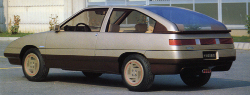 1982 Saab Viking (Fissore) back-side