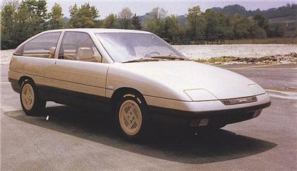 1982 Saab Viking (Fissore) front-side