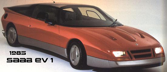 1985 Saab EV-1 Concept