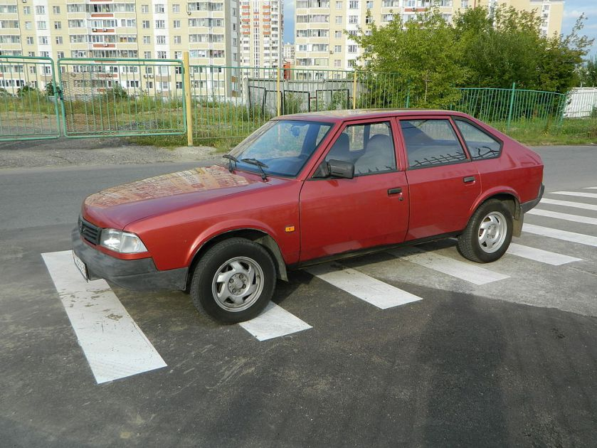 1986-1999 Москвич 2141 - Svatoor red