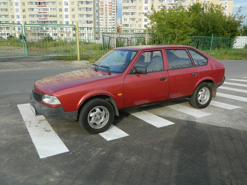 1986-1999 Москвич 2141 - Svatoor red