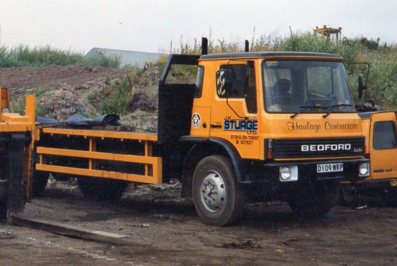 1986 Bedford TL with the 5.4 litre 105TD turbodiesel engine, belonging to haulage contractors J.K. Sturge Ltd