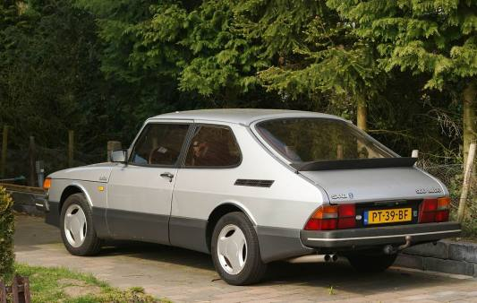 1986 Saab 900 Turbo 16 S