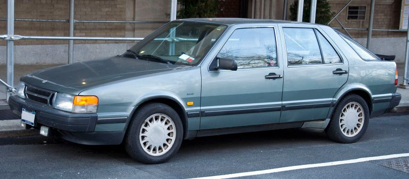 1986 Saab 9000 CC Turbo 16 (US) 1984–1990
