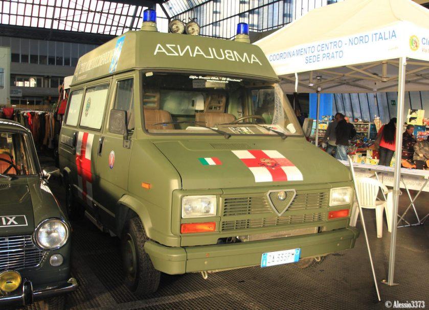 1988 Alfa Romeo 14 AR 6 Ambulance (Alessio3373)