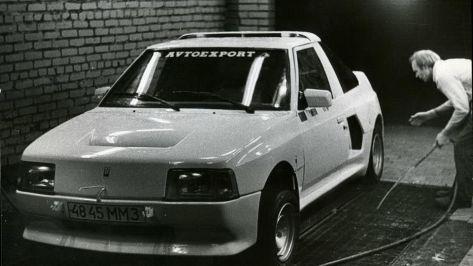 1988 AZLK Moskvitch-2141 KR