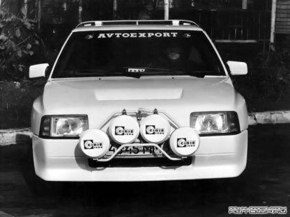 1988 Moskvitch 2141 KR El Monstruo de la URSS