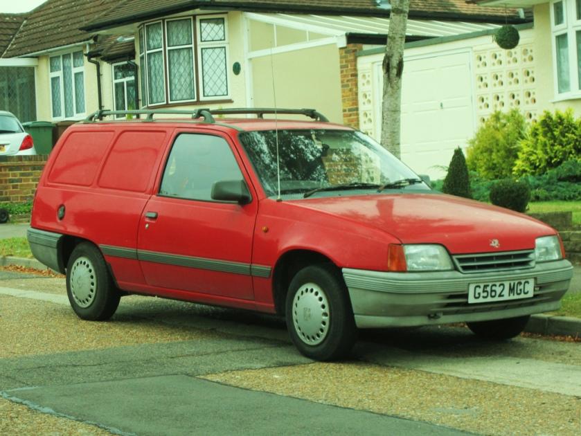 1989 Bedford Astra 1.6 Van
