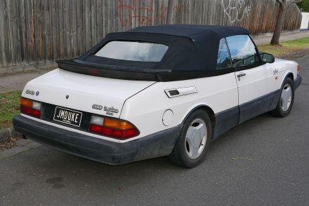 1989 Saab 900 Turbo convertible