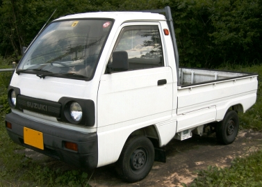 1990-1991 facelifted Suzuki Carry (DA51T)