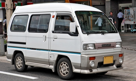 1990 Suzuki Every 660 PS Turbo Aero-tune (DA51V)