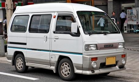 1990 Suzuki Every 660 PS Turbo Aero-tune (DA51V)