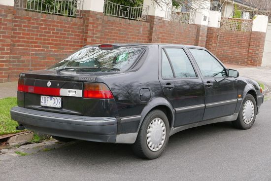 1991-1994 Saab 9000 CS (Australia)1993