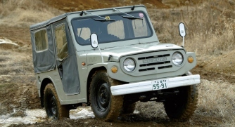 1991 suzuki jimny-green-front-side-750