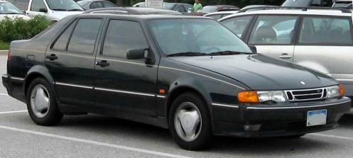 1991–1994 Saab 9000 CS (US) 2nd