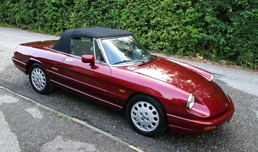 1992 Alfa romeo spider serie 4