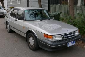1993 Saab 900 Turbo 5-door (TU5M)