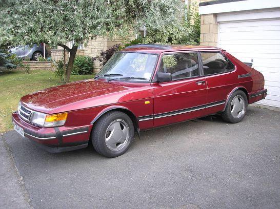 1993 Saab 900 Turbo - Ruby limited edition