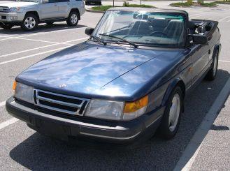 1993 Saab 900T convertible