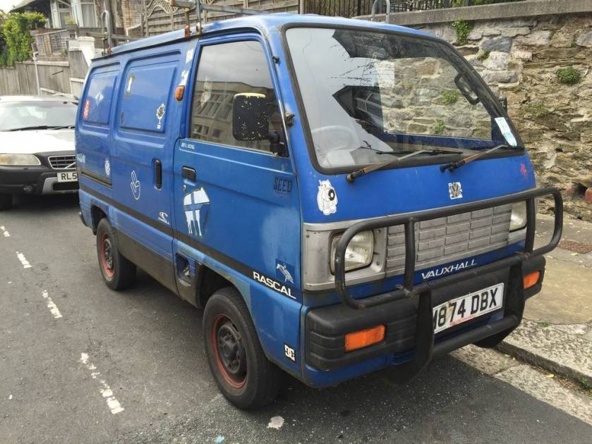 1993 Vauxhall Rascal Camper Conversion