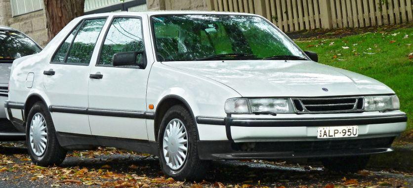 1994–1997 Saab 9000 2,3t CD sedan