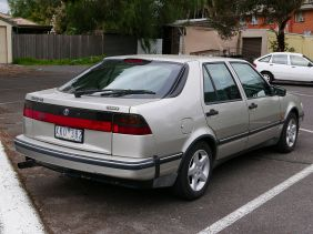 1994–1998 Saab 9000 CS (Australia)1996
