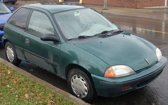 1995-1997 Pontiac Firefly Hatch