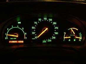 1995 Saab 900 2.0 Turbo dashboard