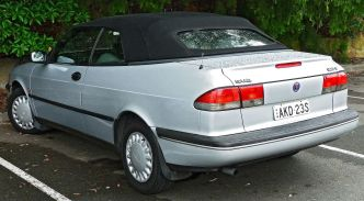 1995 Saab 900 (MY95) S convertible