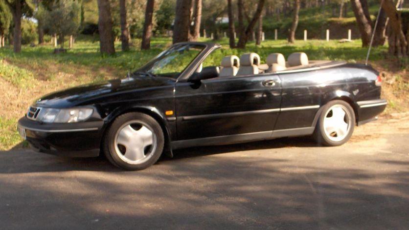 1995 Saab 900SE NG convertible -cabrio