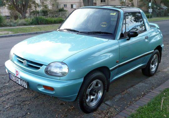 1996-1997 Suzuki X-90 coupé or Vitara